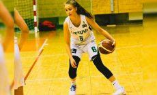 Юсте Йоците дебютировала за взрослую сборную Литвы в 13 лет