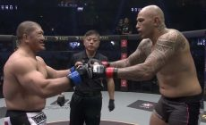 Экс-звезда UFC Брэндон Вера жёстко нокаутировал японского Шрека