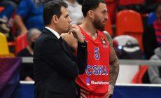 В ЦСКА разругались тренер Итудис и суперзвезда Джеймс (сбежал с игры). Что стряслось и кто первый на выход?